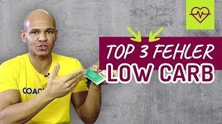 🎉 TOP 3 FEHLER bei LOW CARB 🤦🏽♂️😱 DER Fehler‼️ Low Carb Diät 🍳