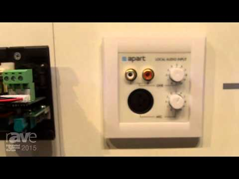 ISE 2015: Apart Audio Launches ALINP Wall Panel