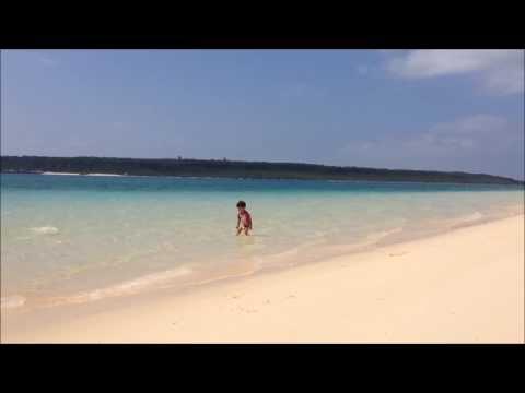宮古島 前浜ビーチで遊んでみました〜。Windowsムービーメーカーで動画を編集。