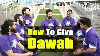 How To Give Dawah – Hamza Tzortzis