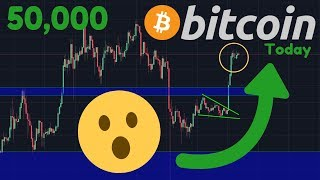 BITCOIN BREAKOUT, BACK UP 10%!! | Bitcoin ETF Approval On Tuesday? | 50,000!!!