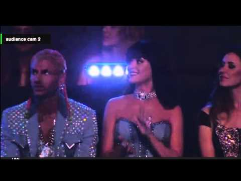 Miley Cyrus Katy Perry VMA 2014 (audience cam)