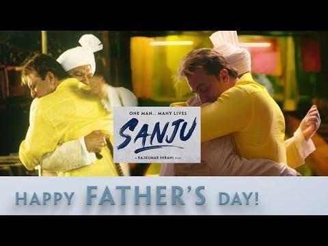 SANJU: Ranbir Kapoor And Paresh Rawal Recreate Jaadu Ki Jhappi On Father's Day l New Poster & Teaser