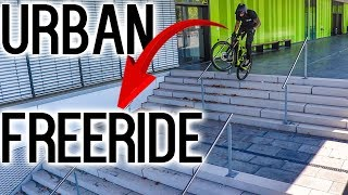 URBAN FREERIDE VS.UNIVERSITY BIELEFELD! Marc Diekmann X Rose Bikes Soulfire
