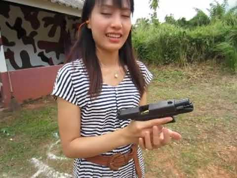 jan ( thai girl ) test GLOCK 23 GEN 4.MOV