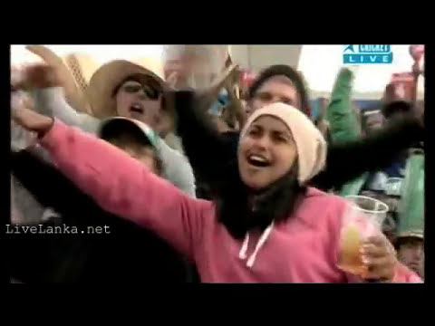 Dile Ape Tharu Official 2011 Cricket World Cup Theme Song - De Ghuma Ke - Sinhala Version video