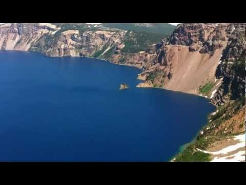 Garfield Peak - Crater Lake Video