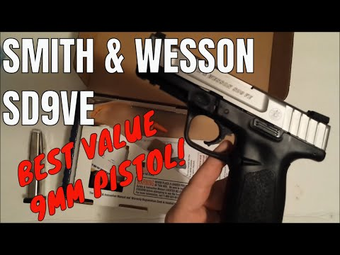 Unboxing: Smith & Wesson SD9VE. Unmatched Value!