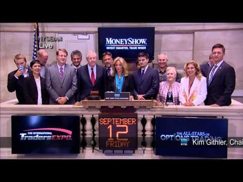 MoneyShow Rings Closing Bell at NYSE [HD]