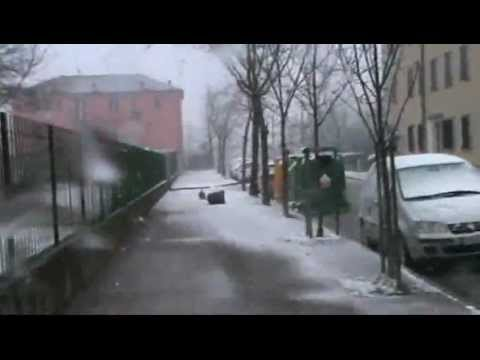 neve e vento a marghera venezia 11/02/2013