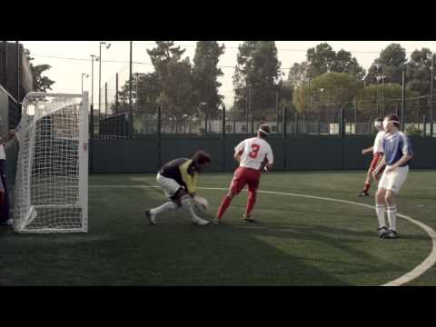David Beckham tries out blind football with Paralympic GB hopefuls