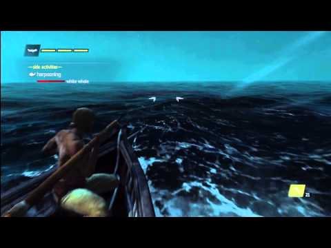 Assassin's Creed 4 Harpooning White Whale