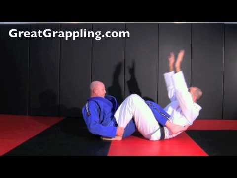 Open Guard Pass Ankle Hooking Defense Image 1