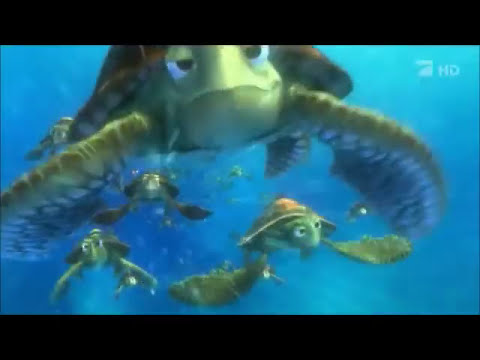 Procurando Nemo - Crush (tartarugas)