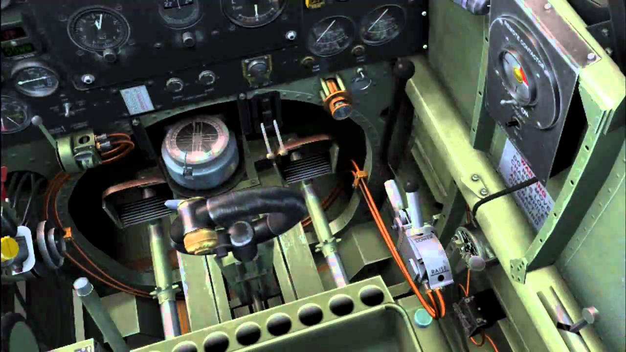A2A WoP3 Spitfire tutorial - Cockpit familiarization - YouTube
