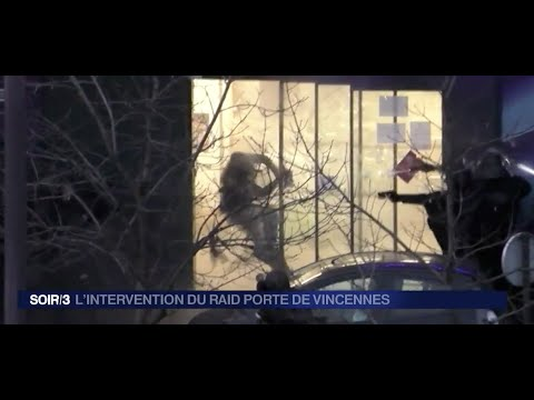 UNCENSORED Moment Special Force Storm Paris Supermarket L'assaut final porte de Vincennes