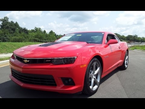 2014 CHEVROLET CAMARO 2SS RED HOT AUTOMATIC RS PACKAGE AT WILSON COUNTY CHEVROLET LEBANON,TN