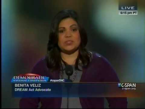 Benita Veliz speech at the Democratic National Convention