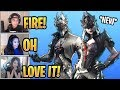 Streamers React to *NEW* Arachne and Spider Knight Skins! - Fortnite Best and Funny Moments