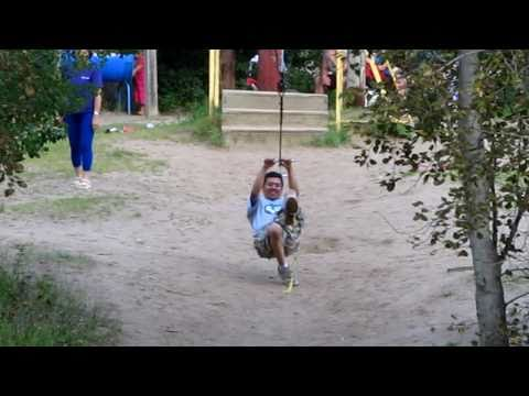 "Nipawin District Regional Park ""Second Time at the Swing rope"" 2010 Part 2"