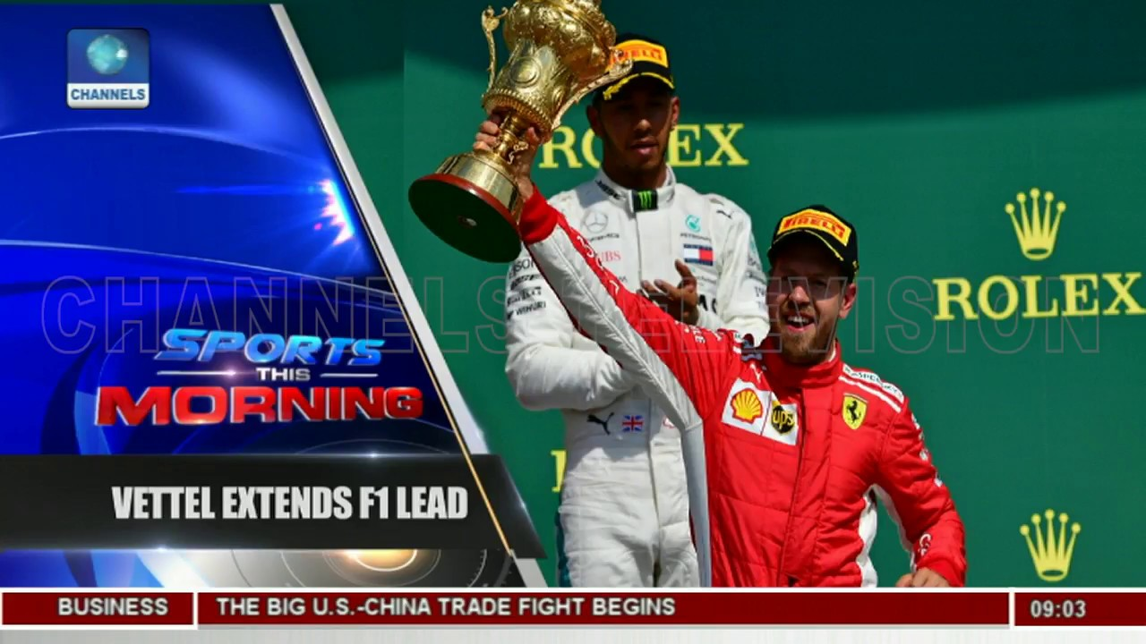 Vettel Wins British Grand Prix To Extend Championship Lead |Sports This Morning|