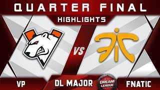 VP vs Fnatic [ACTION] Stockholm Major DreamLeague Highlights 2019 Dota 2