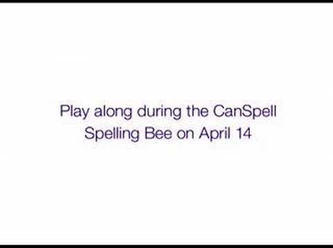 Telus brings the CanSpell spelling bee online