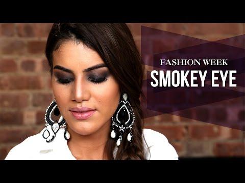 Fashion Week Inspired Smokey Eye