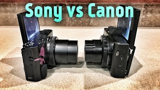 BEST Vlogging Cam? RX100V vs Canon G7X II (Which sucks less?)