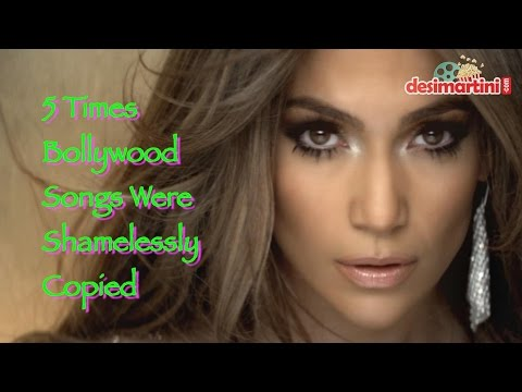5 times world copied Bollywood songs