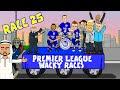 🚦RACE 25🚦 Premier League Wacky Races! (Man City 1-3 Leicester City Highlights)