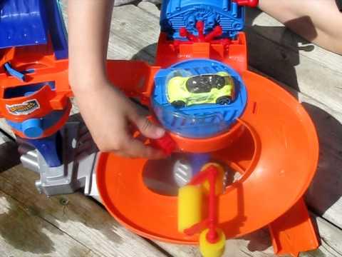 Hot Wheels Car Wash Playset Instructions