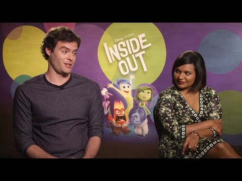 Inside Out's Bill Hader & Mindy Kaling Share Fears & Disgusts