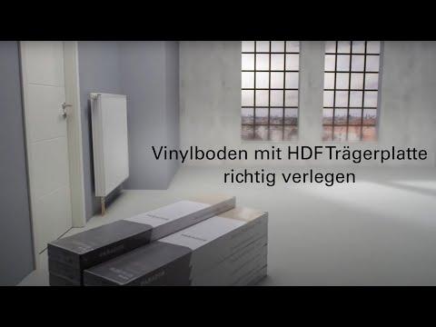 Parador Vinylboden mit HDF-Trägerplatte richtig verlegen