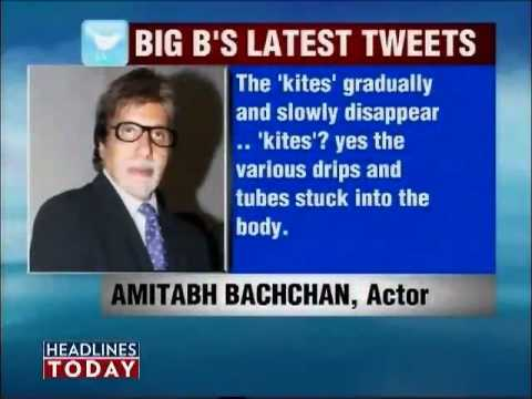 Big B's Health Improves, Feels Hunger Pangs video