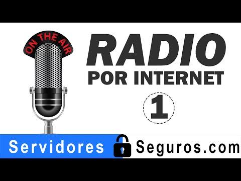 HACER ESTACION DE RADIO POR INTERNET PARTE 1