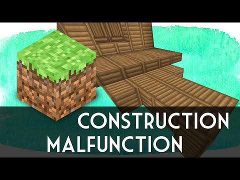 CONSTRUCTION MALFUNCTION (Minecraft w/ SeaNanners) | catabot
