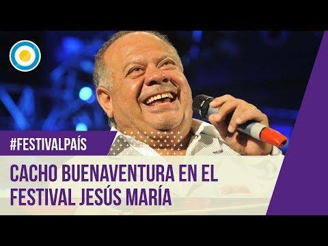 Festival Jesús María - Sexta noche - Cacho Buenaventura - 09-01-13