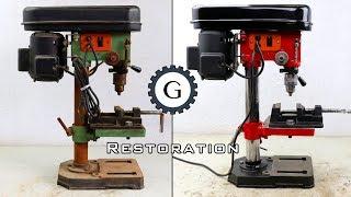 Drill Press Restoration | Easy & Simple Restoration