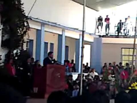 NORMAL DE TENERIA DISCURSO DE BIENVENIDA A LOS FAMILIARES DE LA GENERACION 2005-2009