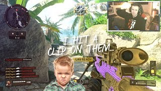 little kids FREAK OUT over my SNIPES.. (I CLIP THEM)