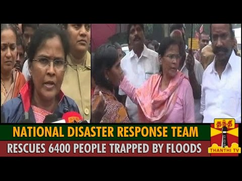 National Disaster Response Team Rescues 6400 People Trapped by Floods : Gajalakshmi, IAS