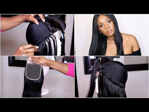 STEP BY STEP TUTORIAL ON HOW TO MAKE A WIG | EASY BEGINNER FRIENDLY FT WESTKISS HAIR | OMABELLETV