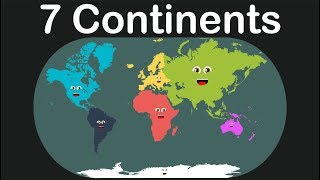 Seven Continents Geography/Kids Learning Tube