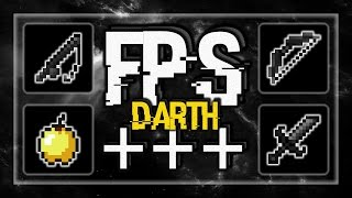 MINECRAFT PVP TEXTURE PACK - DARTH PACK DEFAULT EDIT UHC FPS+++ 1.7.X/1.8.X