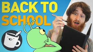 Artists Draw Embarrassing School Memories
