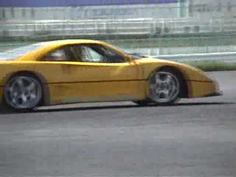 Ferrari F40 Drift Tubi Style