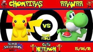 Copa Nepemon  Chompiras Pikachu, Link VS RRAWRR Yoshi Grand Finals