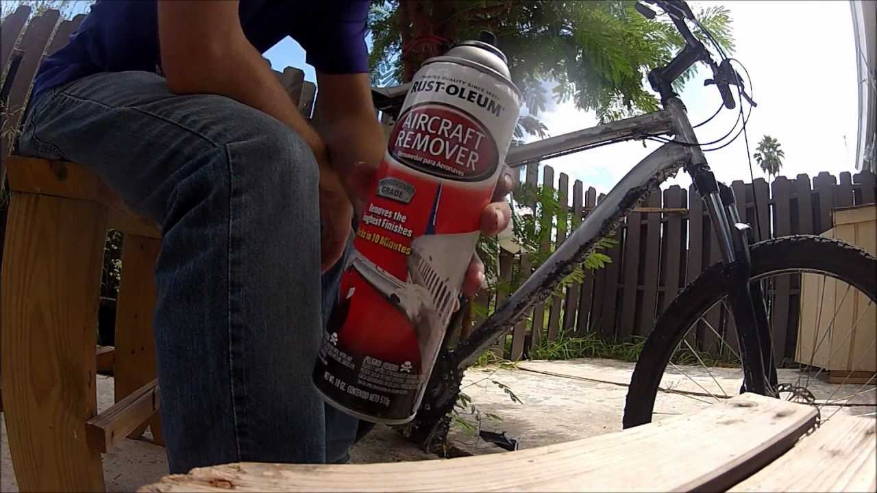 how to remove spray paint from metal youtube
