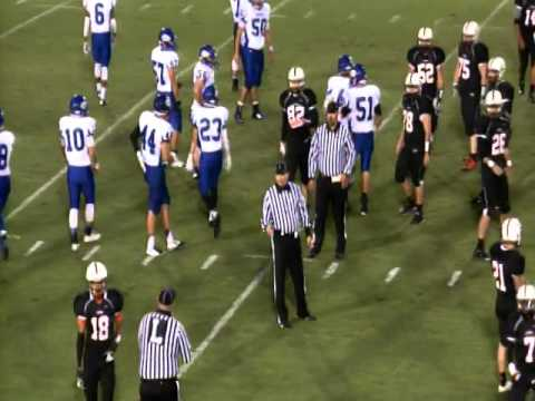 High School Football: Berryhill Chiefs at Cushing Tigers - 9/12/2014